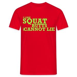 Squat Butts Premium Tee - Men's T-Shirt