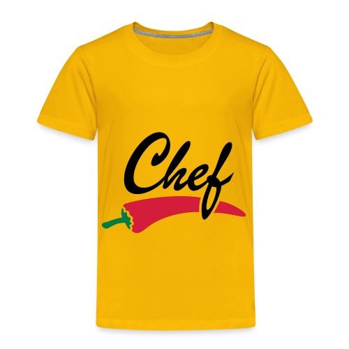 Chef - Maglietta Premium per bambini