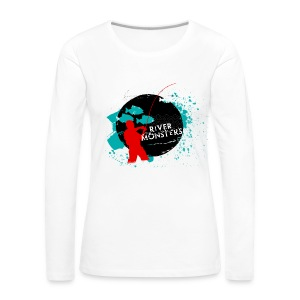 Women's River Monsters Long Sleeve Shirt  - Women's Premium Longsleeve Shirt