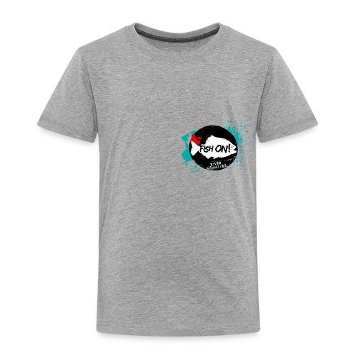 Kid's River Monsters Fish On T-Shirt - Kids' Premium T-Shirt