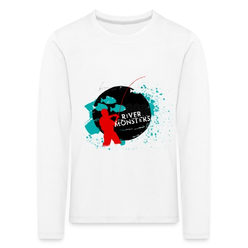 Kid's River Monsters Long Sleeve Shirt  - Kids' Premium Longsleeve Shirt
