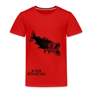 Kid's River Monsters Stencil T-Shirt 1 - Kids' Premium T-Shirt