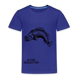 Kid's River Monsters Stencil T-Shirt 3 - Kids' Premium T-Shirt