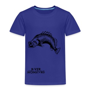 Kid's River Monsters Stencil T-Shirt 3 - Kids' Premium T-Shirt