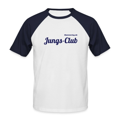 Baseball kurzarm Jungs-Club - Männer Baseball-T-Shirt
