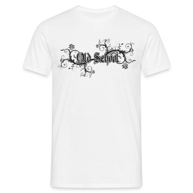 Old School T-shirt mit Verzierung