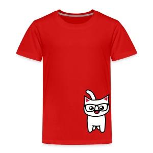Nerd Kitteh - Kinder Premium T-Shirt