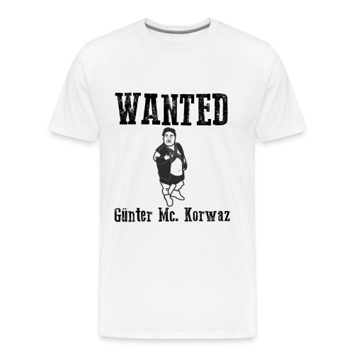 Günter Mc Korwas - Premium-T-shirt herr