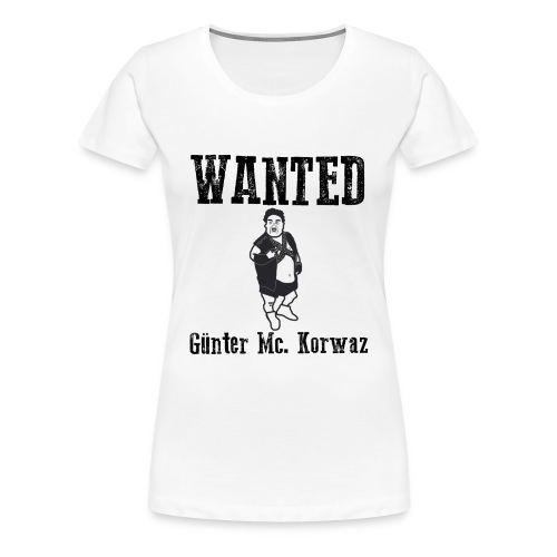 Günter Mc Korwas - Premium-T-shirt dam