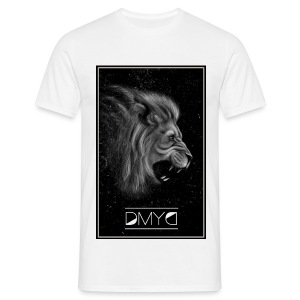 Lion - Born to draw - T-shirt Homme