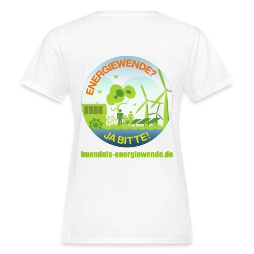 ENERGIEWENDE? JA BITTE! Öko-T-Shirt - Frauen Bio-T-Shirt