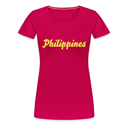 Ladies Philippines Tee - Women's Premium T-Shirt