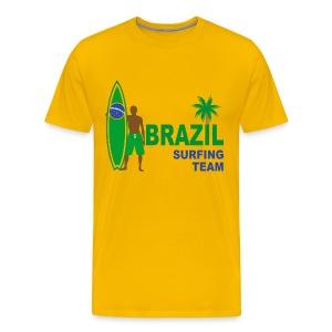 Brazil surfing team - Men's Premium T-Shirt