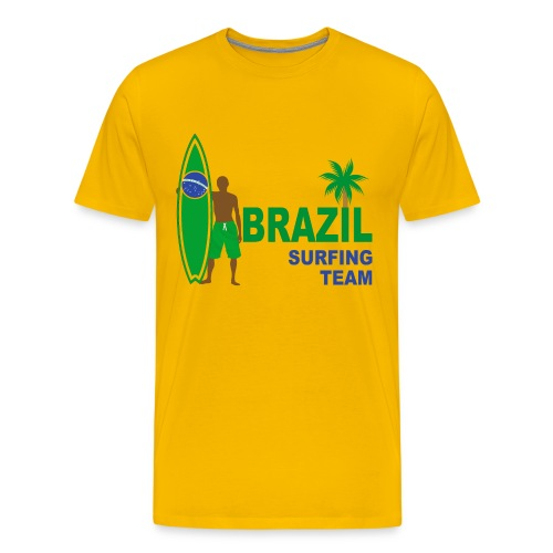 Brazil surfing team - Men's Premium T-Shirt