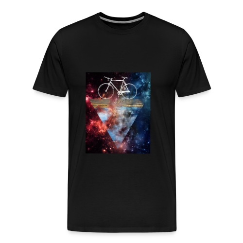 T-Shirt Space Bicycle - Männer Premium T-Shirt
