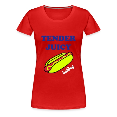 Ladies Tender Juicy Tee - Women's Premium T-Shirt
