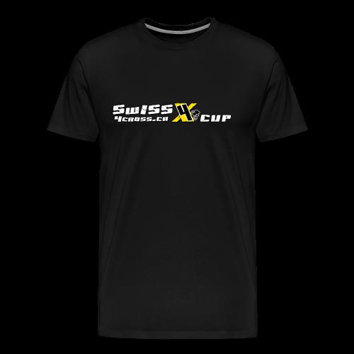 Simple white - Männer Premium T-Shirt