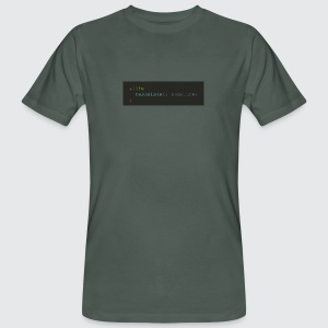 nerd philosophie - Männer Bio-T-Shirt