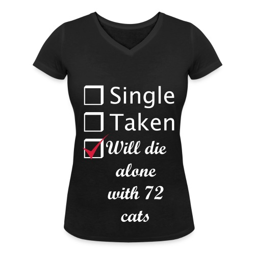 All the single ladies - Frauen Bio-T-Shirt mit V-Ausschnitt von Stanley & Stella