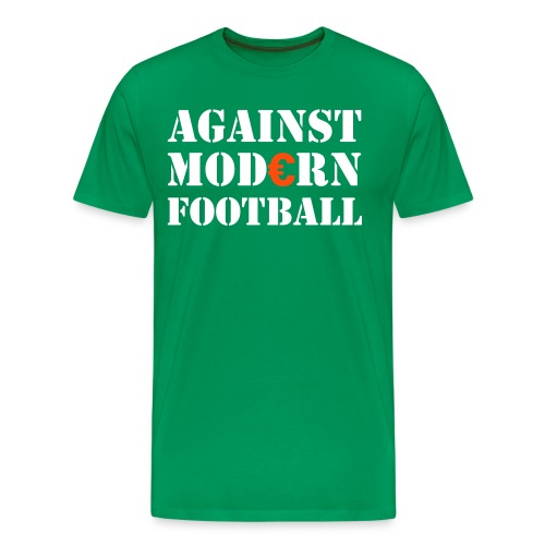 Against Modern Football - Men's Premium T-Shirt
