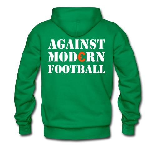 Against Modern Football Hoodie - Men's Premium Hoodie