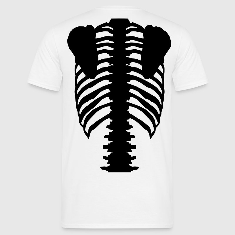 Skeleton / Back T-Shirts - Men's T-Shirt