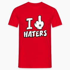 I fuck haters 3c T-Shirts