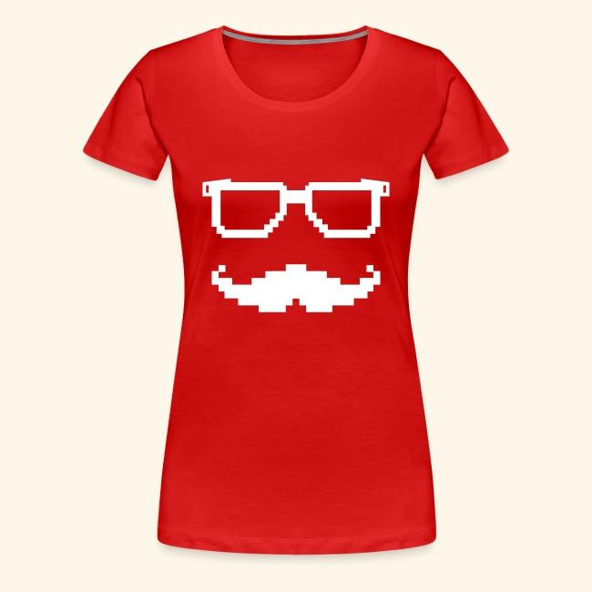 f8c90be5ce52b Moustache et lunettes pixel geek