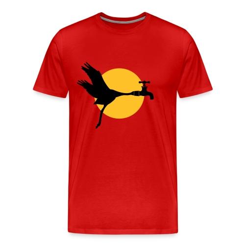 Kraanvogel - Mannen Premium T-shirt