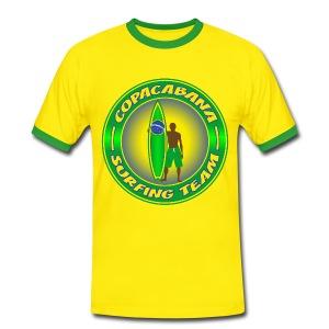 Brazil surfing team - Men's Ringer Shirt