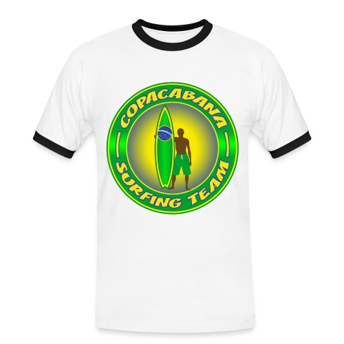 Brazil surfing team - Men's Ringer Shirt