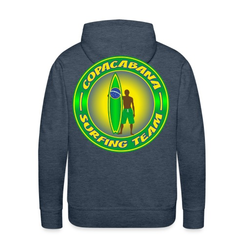 Brazil surfing team - Men's Premium Hoodie
