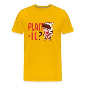 Plaît-il rouge (premium) - T-shirt Premium Homme