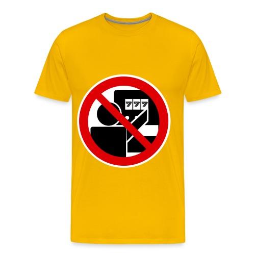 MTRO - Sag nein zu Spielautomaten - Männer Premium T-Shirt