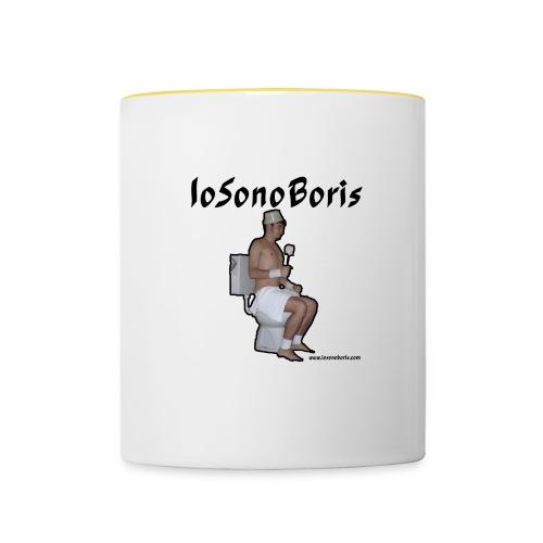 tazza iosonoboris fronte - Tazze bicolor