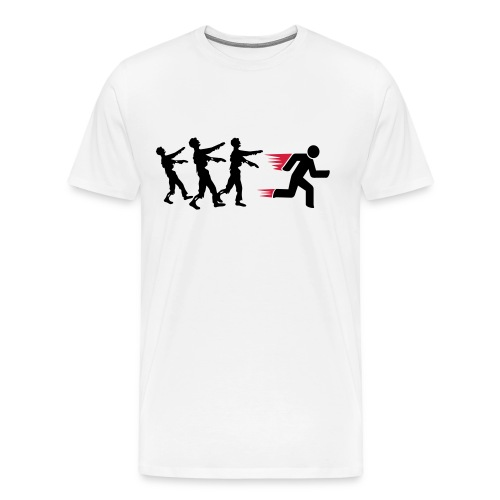Run from zombies  T-Shirt  - Men's Premium T-Shirt
