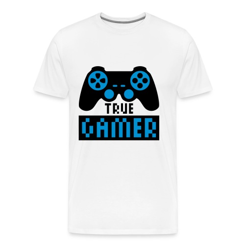 True Gamer  T-Shirt - Men's Premium T-Shirt