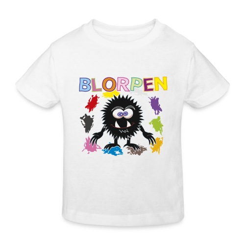 Blorpen-tröja Blorpen och alla färgerna - Ekologisk T-shirt barn