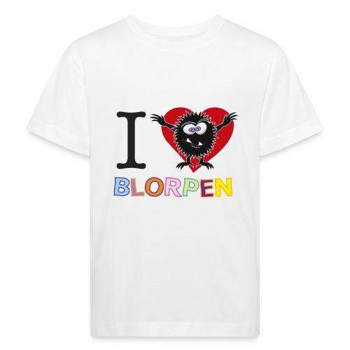 Blorpen-tröja I Love Blorpen - Ekologisk T-shirt barn