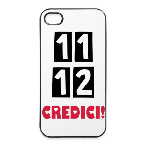 11, 12, Credici Custodia Iphone 4 /4s - Custodia rigida per iPhone 4/4s