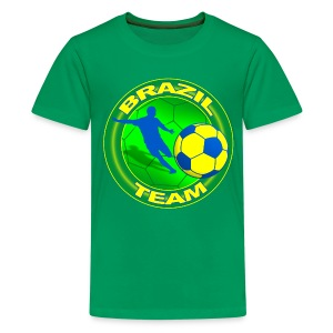 Brazil sport team - Teenage Premium T-Shirt
