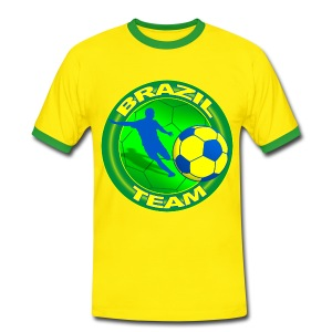 Brazil sport team - Men's Ringer Shirt