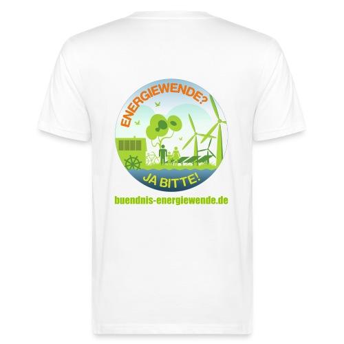 ENERGIEWENDE? JA BITTE! Öko-T-Shirt - Männer Bio-T-Shirt
