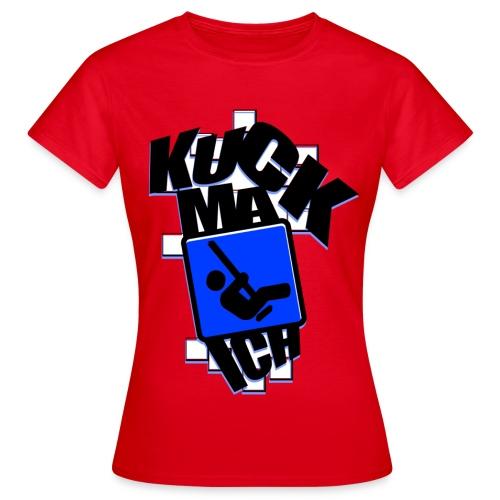 KuckMaIch GIRLIE red - Frauen T-Shirt