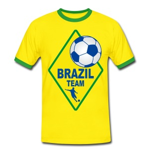 Brazil sport team - Men's Ringer Shirt