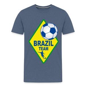 Brazil sport team - Teenage Premium T-Shirt