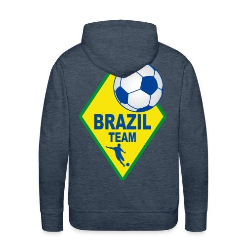 Brazil sport team - Men's Premium Hoodie