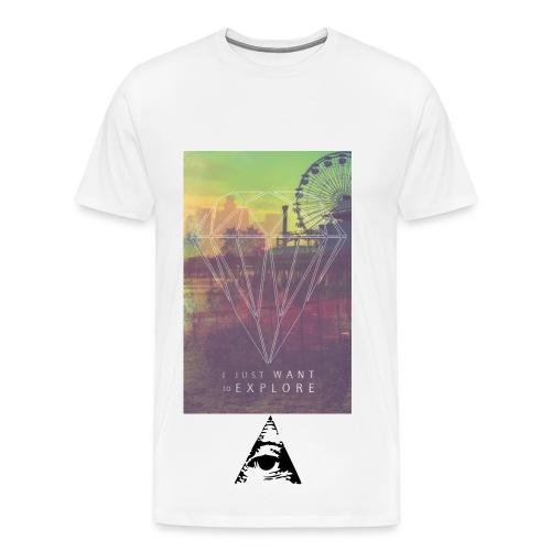 LLUM EYE T-SHIRT - Herre premium T-shirt