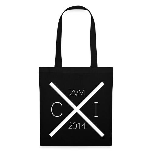 Stofftasche (Weißer Aufdruck): CzumI 2014 - Stoffbeutel