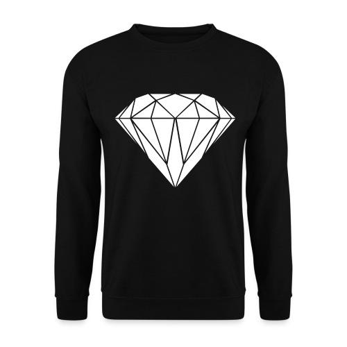 sweater met diamant - Mannen sweater
